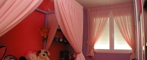 Doseles para camas dormitorios matrimonio camas madera dosel atado columnas grande corona beb - Doseles para camas ...